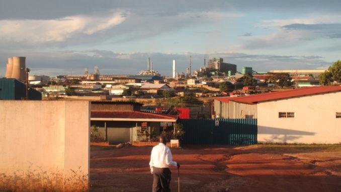 The Copperbelt town of Chingola. (Stephanie Lämmert)